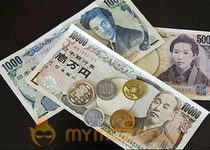 Yen firms on Japan trade surplus