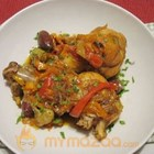 Braised Chicken  With Peper