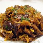 Spicy Brinjal Cabbage