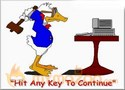 Hit Any Key To contiue