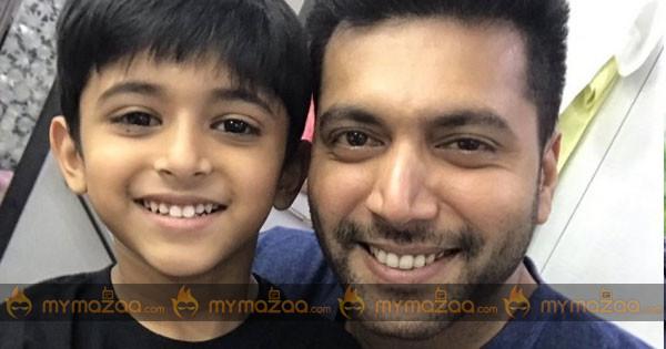 Jayam Ravi Introduces his Son in Tik Tik Tik