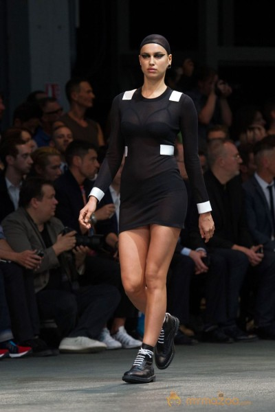 Irina Shayk at the Givenchy Fashion Show