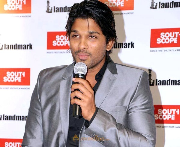 Allu Arjun at South Scope Gallery