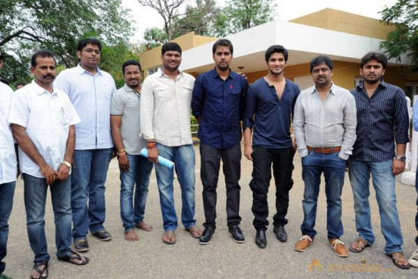 Nikhil Karthikeya movie Opening Photos