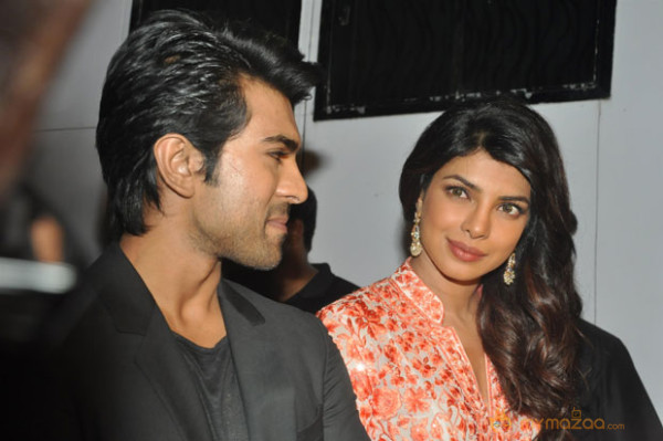 Ram Charan and Priyanka in Movie Zanjeer Promotions Photos