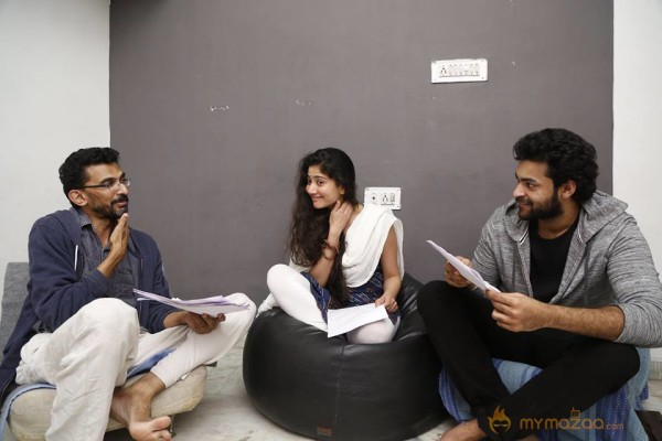 Working Stills : Sai Pallavi Varun Tej and Shekhar Kammula film