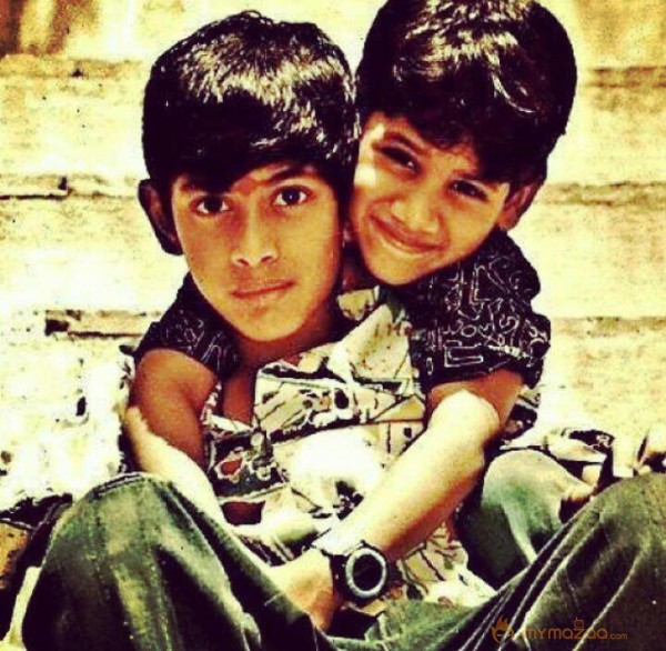 Isn't childhood the best part of our lives..Happy Birthday Rana Daggubati