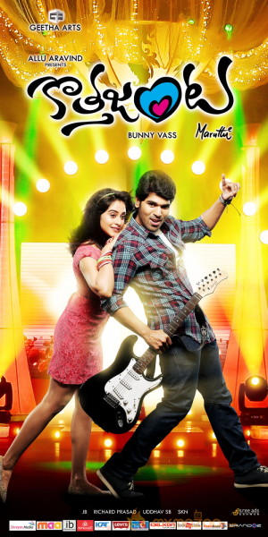 Kotha Janta Movie Music Out Posters