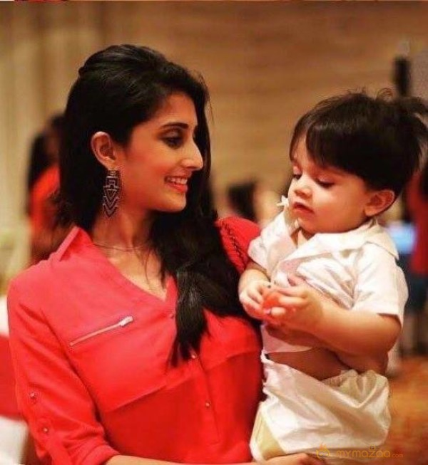 Photo Story: Baby Shamili With Ajith's Son