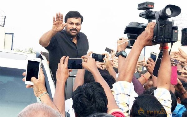 Welcome Back Megastar Chiranjeevi Garu!