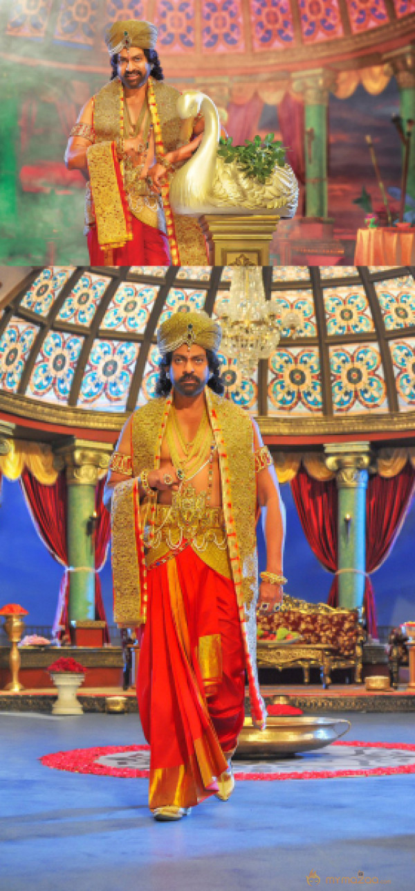 First Look: JB in Om Namo Venkatesaya