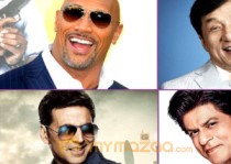 Dwayne Johnson Jackie Chan SRK Akshay Kumar Highest paid actors in the World