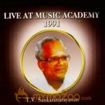 Live At Music Academy TV Sankaranarayanan