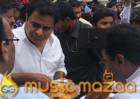 KTR caught eating at Rs 5 Food Counter!