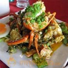 Crab with Green Rice