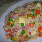 Rice With Peas & Ham
