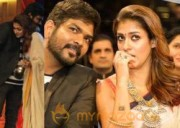 Nayantara and Vignesh Shivan at SIIMA 2016