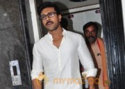 Chiranjeevi Birthday Special: Ram Charan Pooja at Film Nagar Temple