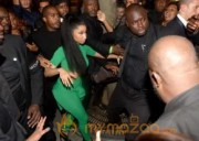 Nicki Minaj at 79 Club in Paris