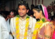 Allu Arjun, Sneha Reddy Wedding Photos