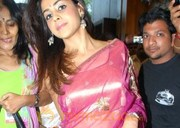 Genelia New Photo Stills In Saree
