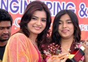 Samantha at Nishitha College Celebrations Gallery