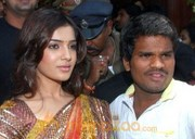 Samantha New Photo Stills In Saree