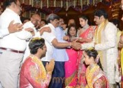Balakrishna's Daughter Tejaswini Weds Sri Bharat Wedding Photos