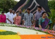 Nandamuri Family at NTR Ghat